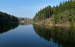 jaro na přehradě