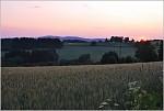 Krkonoše,západ slunce