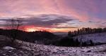 Svítání v Teplických skalách