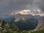 V horách před bouří