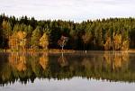 Podzimní ráno u jezera