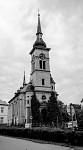 Evangelický  kostel v Žatci front