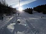 Nikon P7700 lyžovačka