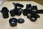 Sony NEX-5N - Nikon P7700 s príslušenstvom