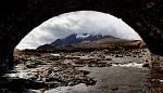 Drsná a krásná skotská krajina ...