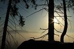 ráno na Lipně