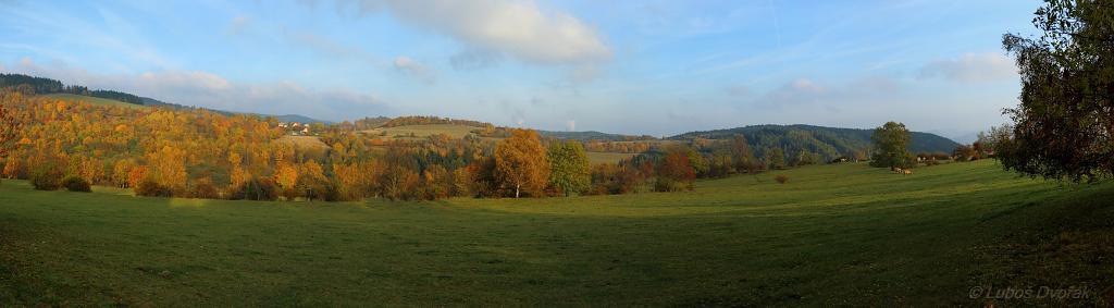 Barvy podzimu Panorama