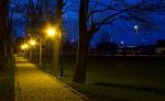 Noční park v Chalupkách