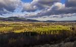 Pohled na Golf resort v Ostravici