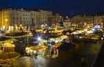 adventní trhy v Krakowě