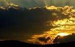 slunce odchází