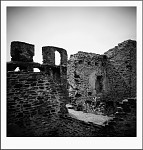 the ruins...