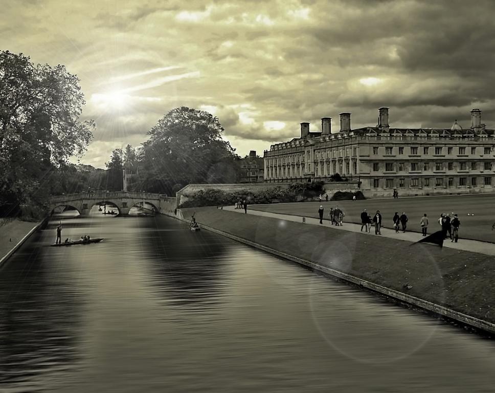 podzim v Cambridge