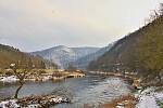 Stará řeka trošku barevnější