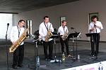 Harmony Quartet - promenádní koncert 28.7.2013 před OD Forum v Ústí nad Labem