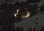 Noční výjev z Alp