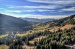 Prosinec v Alpách