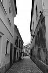 Kutná Hora - pohled do Barborské ulice