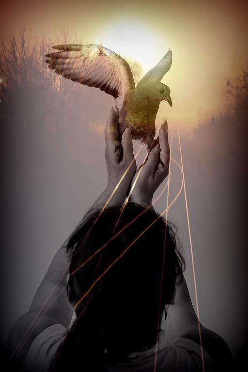 Proměna ženy v anděla