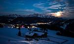 podvečer v Alpách...