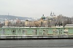 skoro bílá Praha