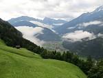 Ráno v Mayrhofene