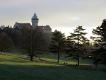 Ráno pri zámku