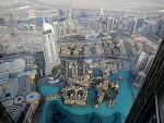 Pohľad z veže Burj Khalifa