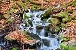 potok v mraze