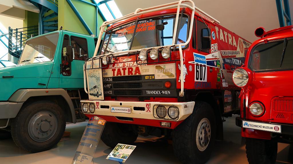 Tatra pro Monsieur Dakar