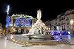 Noční Montpellier