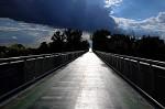 slnko na moste