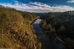 Pohled z Bechynského mostu