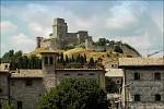 Rocca maggiore v Assisi