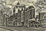 Amsterdam - typická ulice
