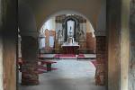 Kostel sv. Jiljí, interiér