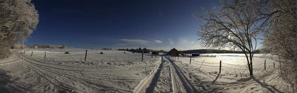 Toulky zimní krajinou