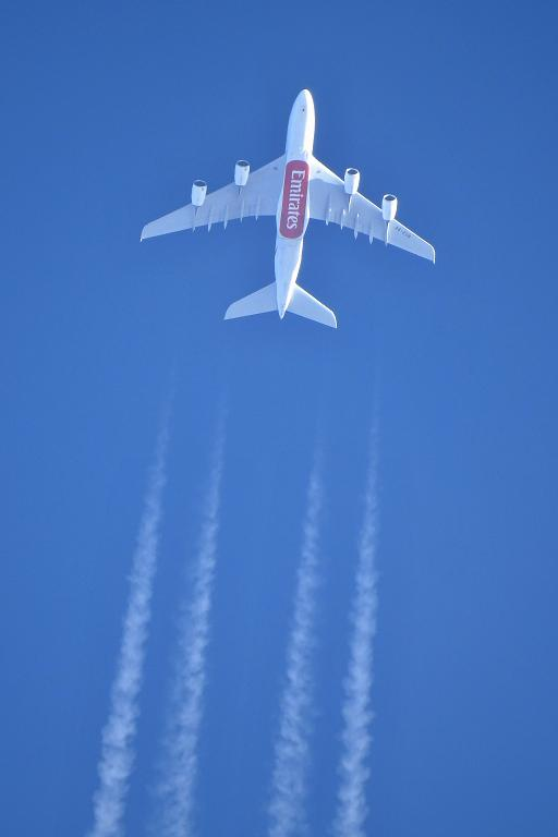 Airbus A380-861 (A6-EUB)— Emirates Airlines