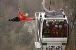 Výcvik leteckých záchranářů Macocha 2018