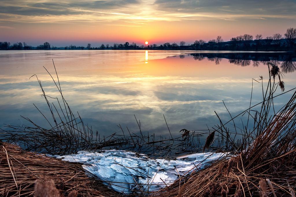poslední led pod Pálavou