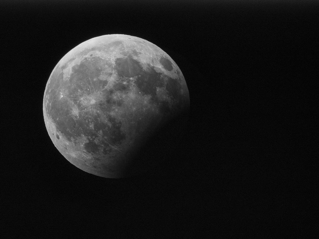 Čiastočné zatmenie mesiaca 7.8. 2017