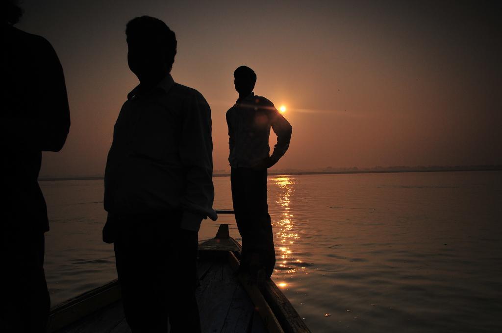 Svítá nad Gangou