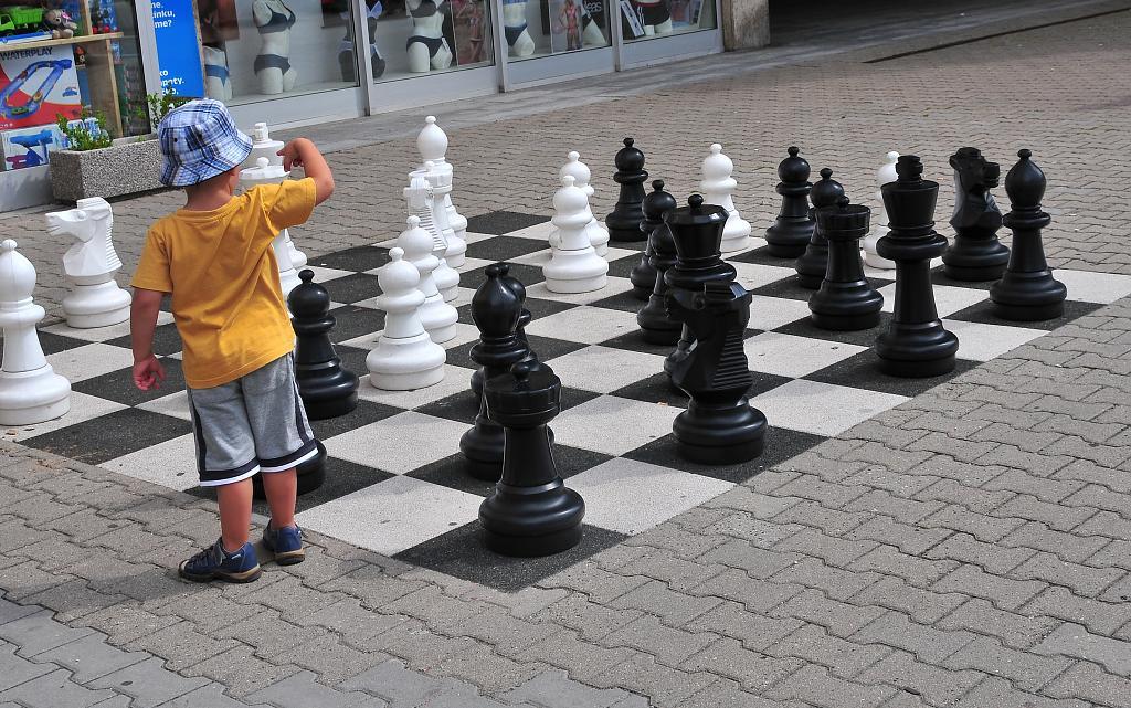 Šach, mat....