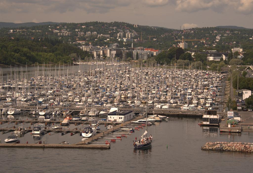 Parkoviště v Oslo