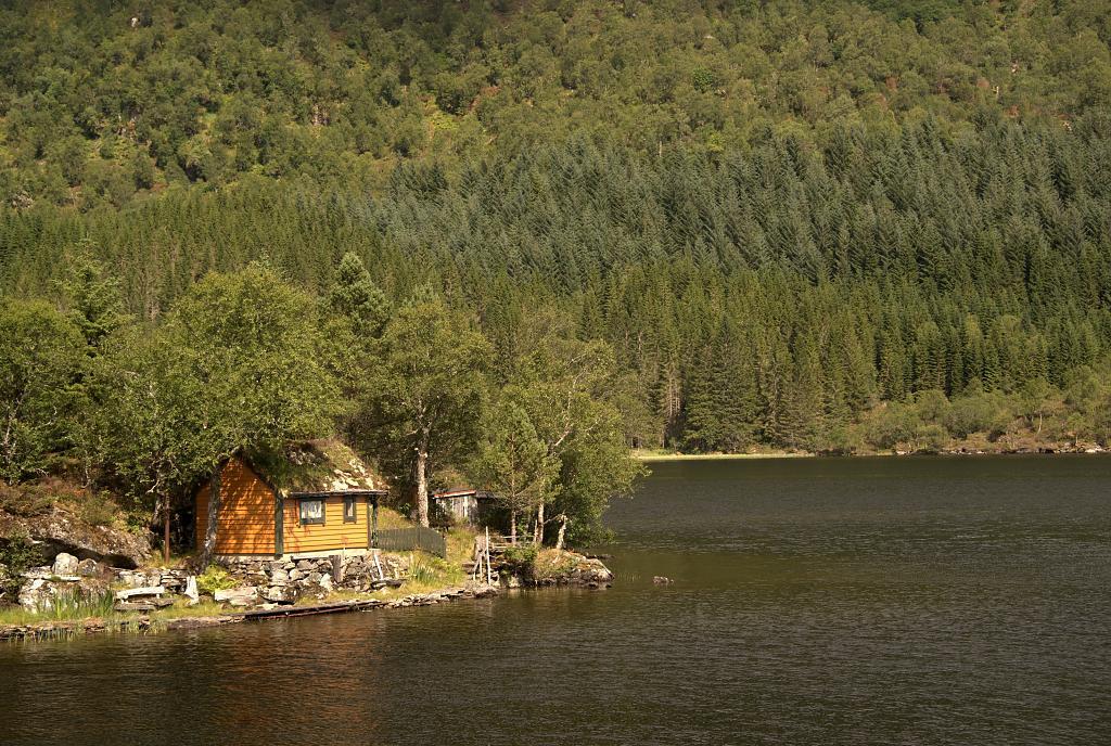 Chajda u fjordu
