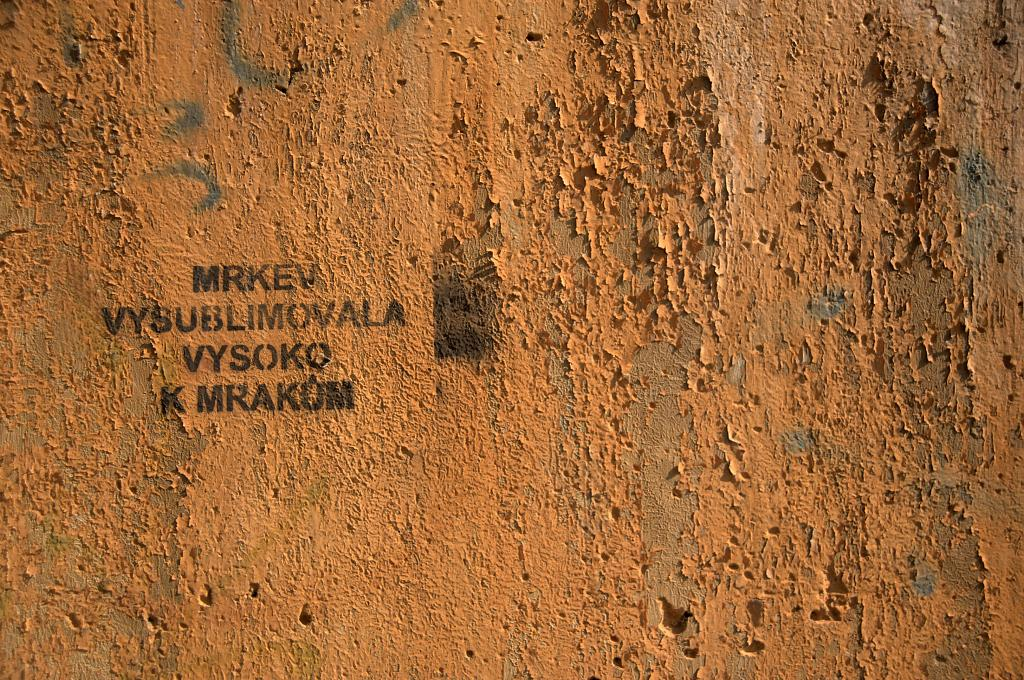 Nápis na zdi