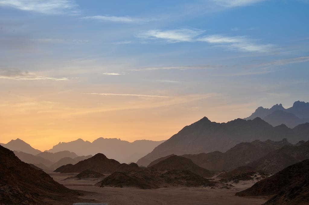 I poušť má barvy