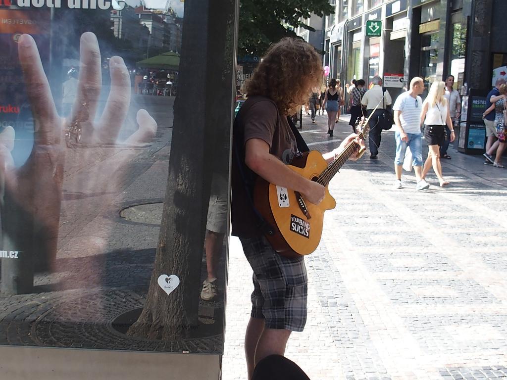 Muzikant na ulici
