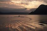 Večerní fjord od Mirek M