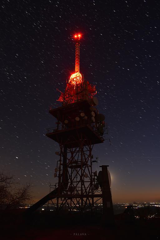 vysílač na Pálavě